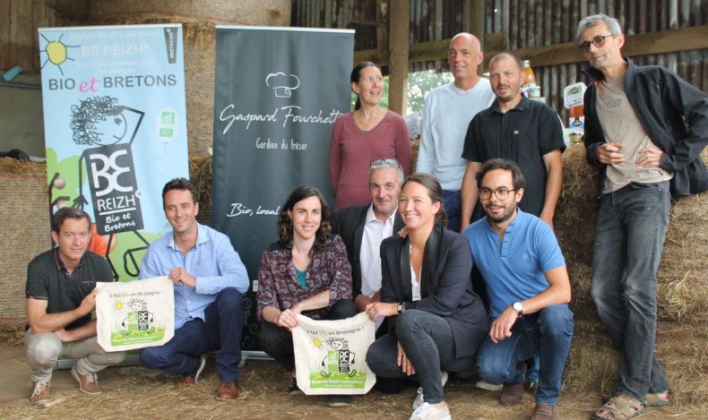 Gaspard Fourchette rejoint la marque partagée Bio & bretonne BE REIZH