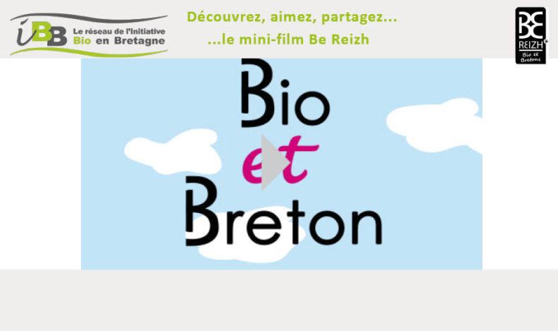 Be Reizh, la marque partagée bio bretonne lance son mini-film !