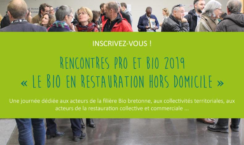 Les Rencontres Pro et Bio : mardi 26 novembre 2019 à Ploufragan