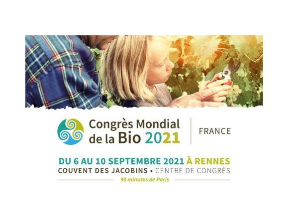 Congrès Mondial de la Bio à Rennes – OWC – Du 6 au 10 septembre 2021