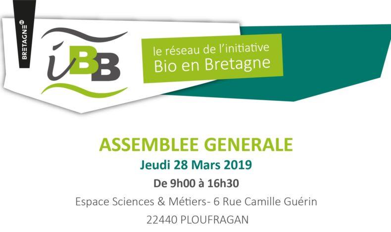 Assemblée Générale IBB - Jeudi 28 mars à Ploufragan