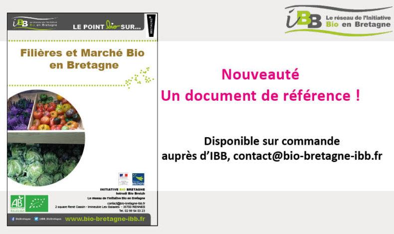 Filières et Marché Bio en Bretagne