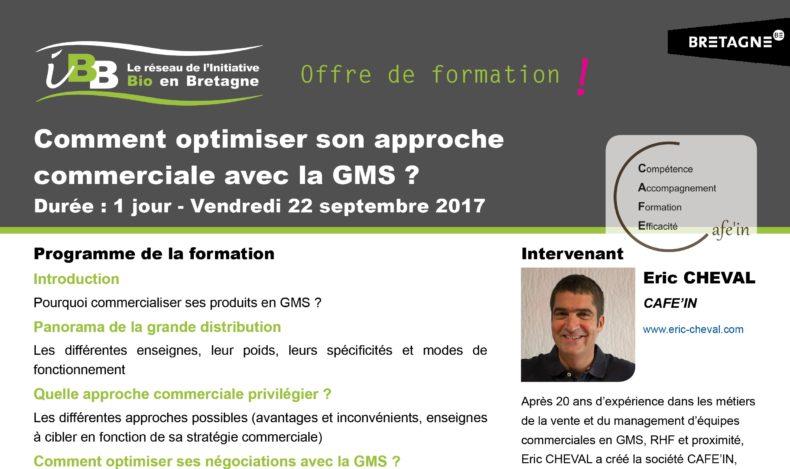 Comment optimiser son approche commerciale avec la GMS ? Une formation proposée par IBB