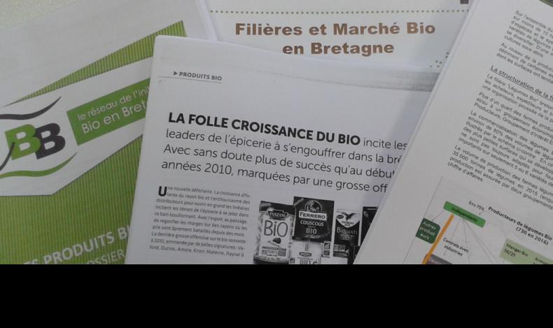 Deux documents publiés par IBB pour une meilleure connaissance de la filière et du marché Bio