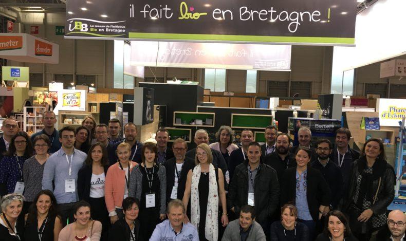 """Natexpo 2017 : une édition record et un succès pour les entreprises du Pavillon """"il fait bio en Bretagne"""" !"""
