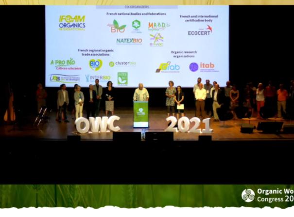 Congrès mondial de la Bio 2021 à Rennes : retour sur l'évènement !