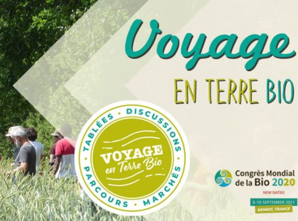 Voyage en Terre Bio s'invite aux tables de la restauration collective