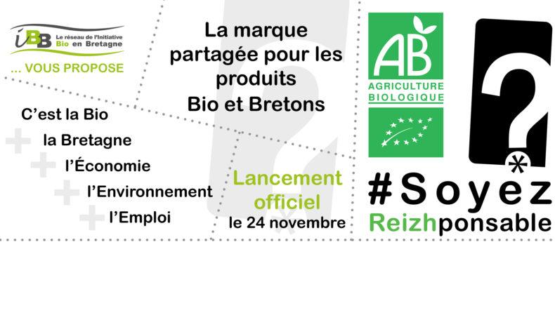 Une marque pour identifier les produits Bio et bretons