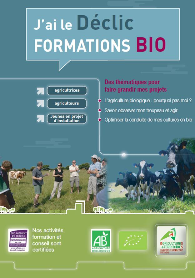 Ibb j 39 ai le d clic formations bio formations propos es for Chambre agriculture bretagne