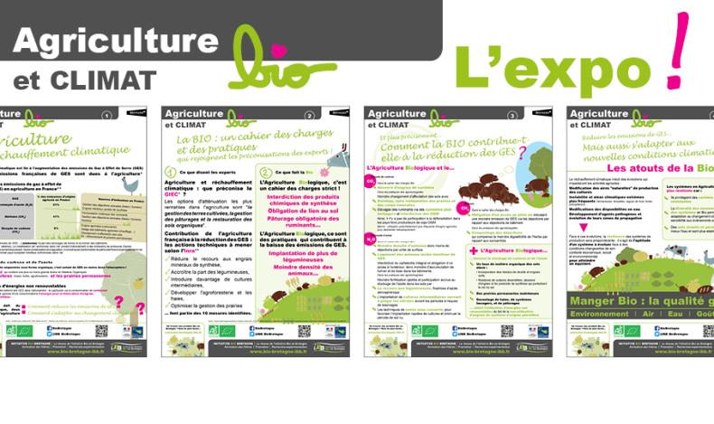 Une exposition sur les atouts du cahier des charges et des pratiques de l'Agriculture Biologique...