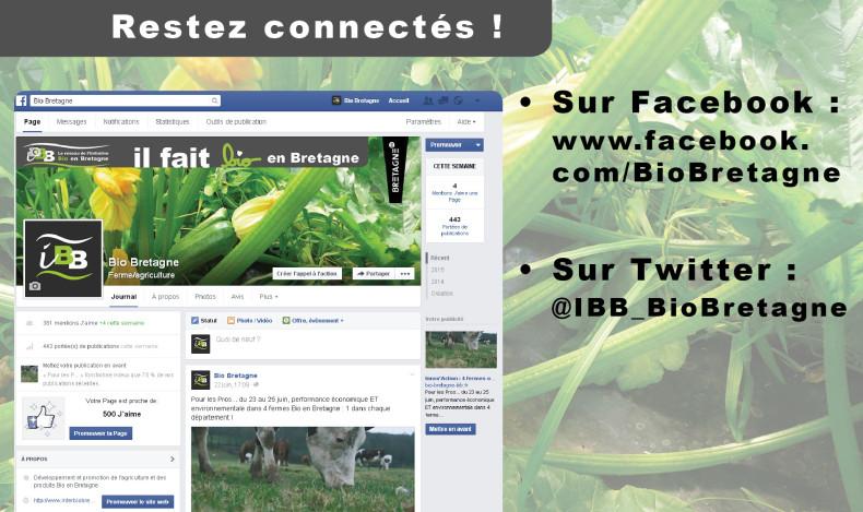 Restez connectés au réseau Bio Breton !
