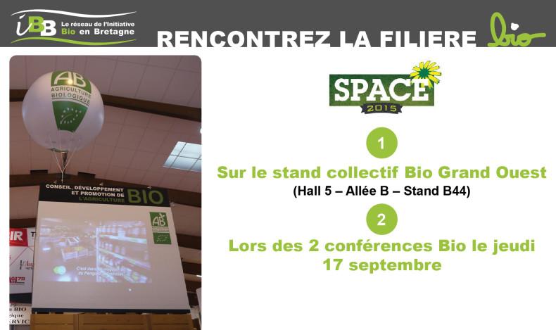 A la rencontre de la filière Bio au Space 2015